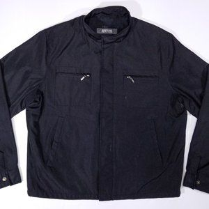 Kenneth Cole Reaction Black Zip-up Jacket